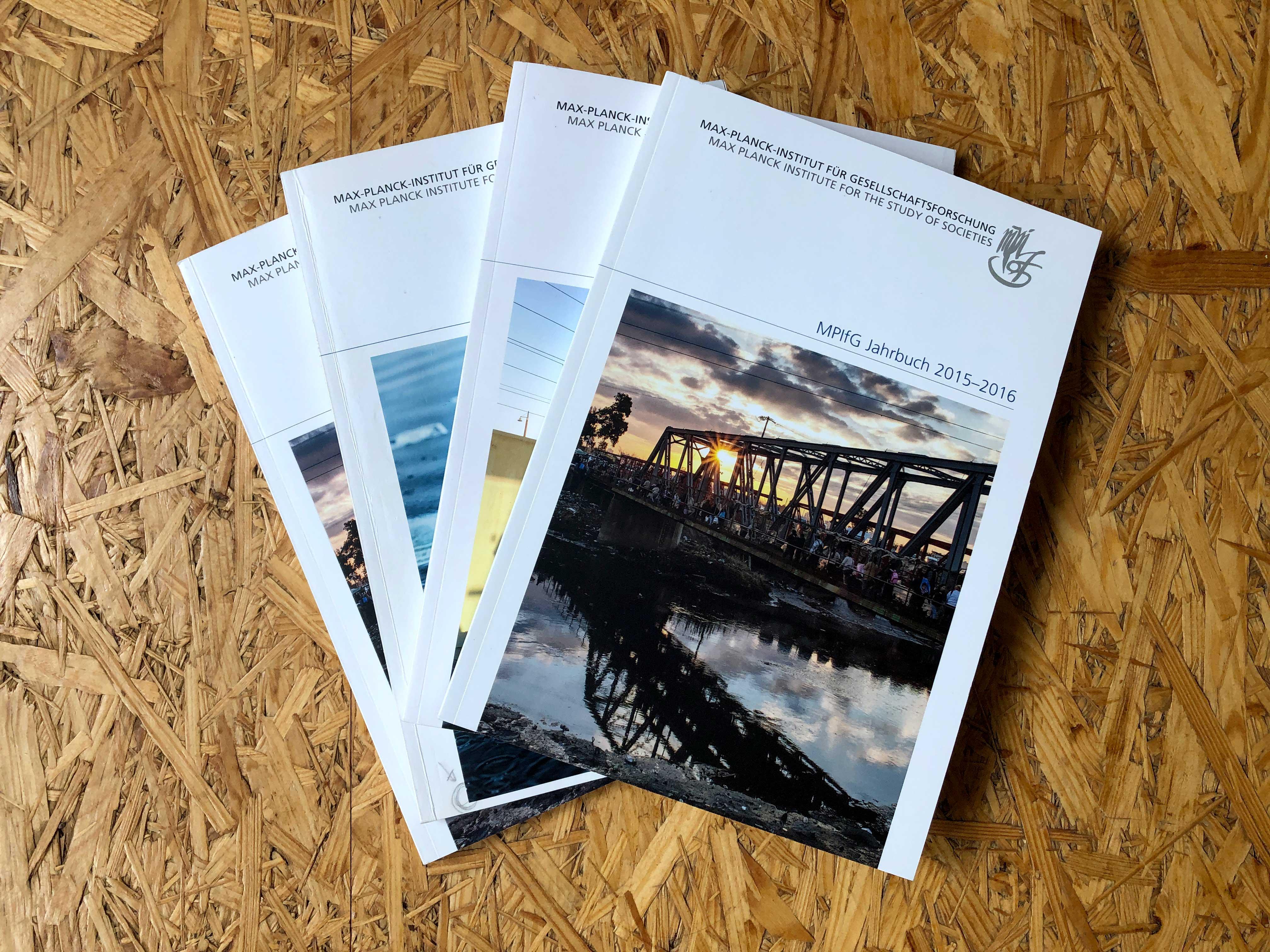 Max-Planck-Institut für Gesellschaftsforschung - Jahrbuch