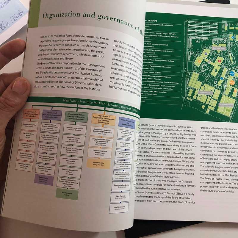 Jahrbuch des Max-Planck-Instituts für Pflanzenzüchtungsforschung - Innenseite