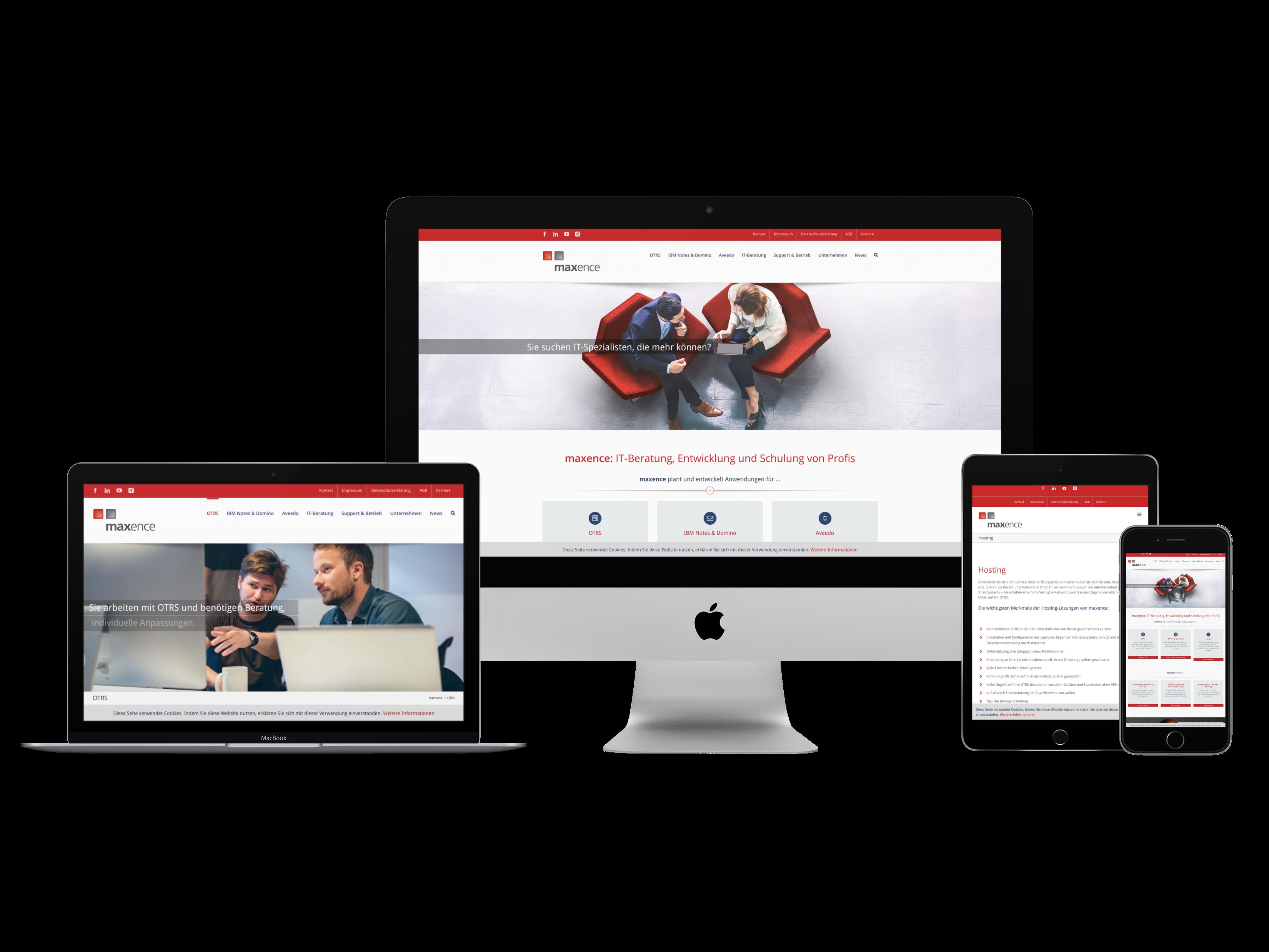 maxence - IT-Beratung - Website - www.maxence.de